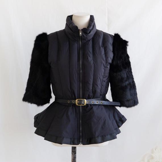 いい女の為の優雅なハーフコート【軽くて暖かくスタイル良く魅せる】