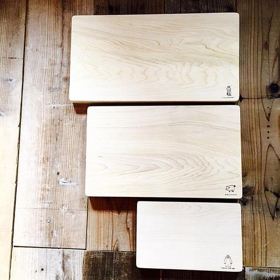 青森ヒバのまな板 (大)24×45×3.5cm 一枚板 ふるさと納税返礼品
