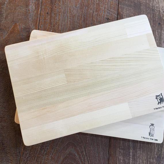 青森ヒバのまな板 (M/MR)20×40×2〜2.5cm 寄せ木