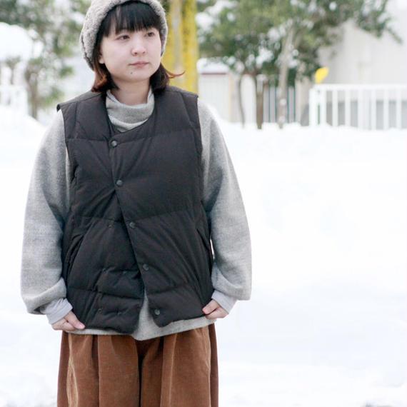 LAMOND★ラモンド★C/P/Nピーチダブルダウンベスト(LM-O-053)