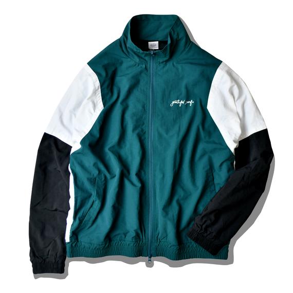 YouthFUL SURF Nylon Track Jacket【Antique green】