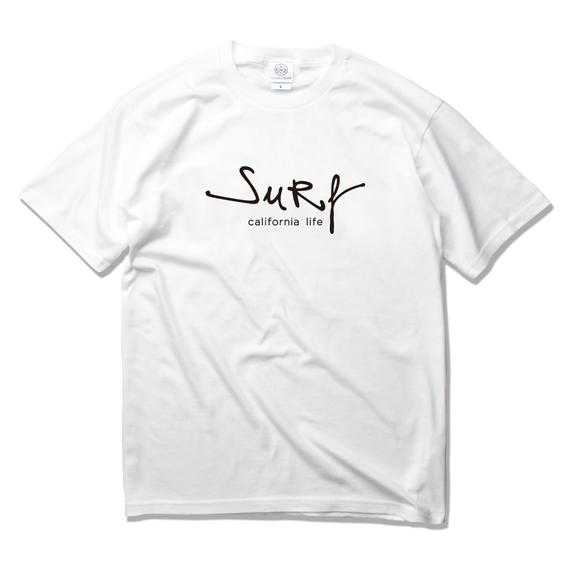 surf california life Tee 【White】