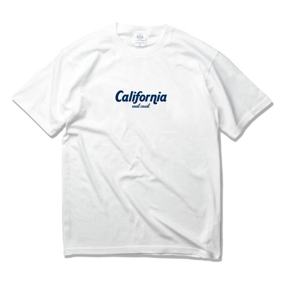 california west coast logo Tee  【White】