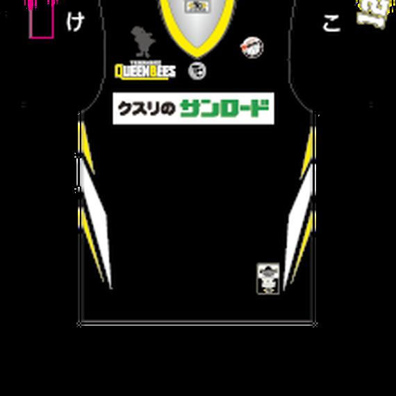 2018 セカンダリーシャツ(半袖・背番号あり)