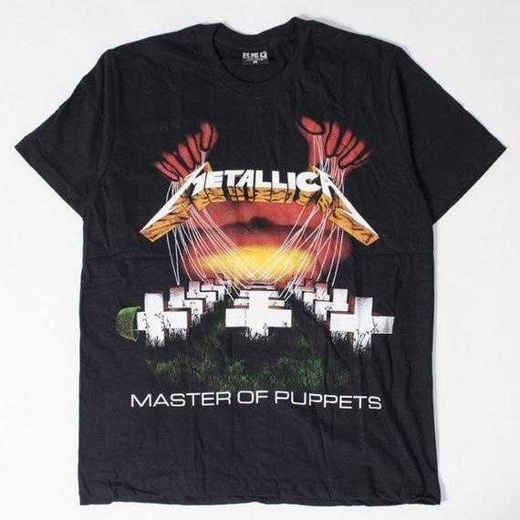 ロックTシャツ METALLICA メタリカ Master of Puppets ジャケット 0300