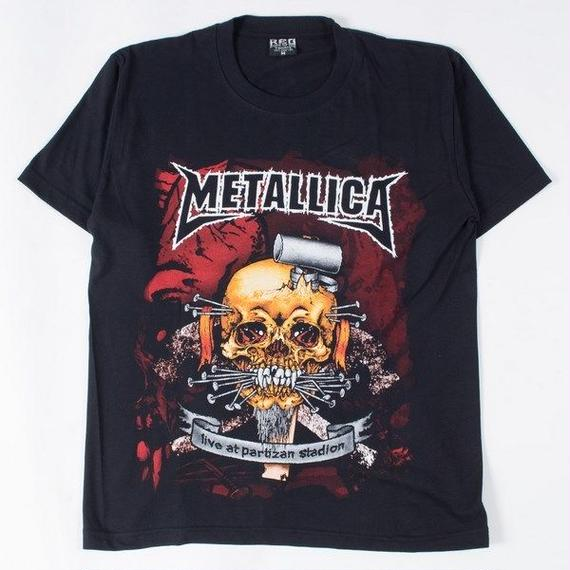 ロックTシャツ METALLICA メタリカ live at partizan stadion 0312
