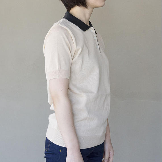 DEW / ポロシャツ / L.Beige