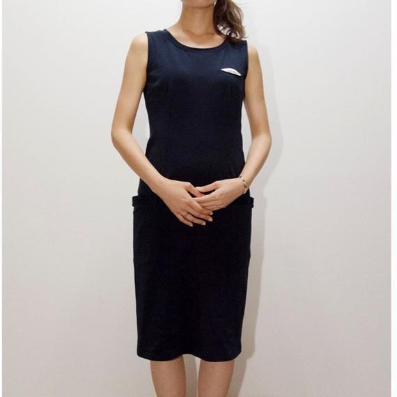 caart / staight pocket dress