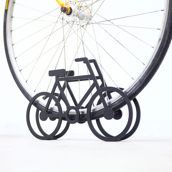 On Bicycle Stand
