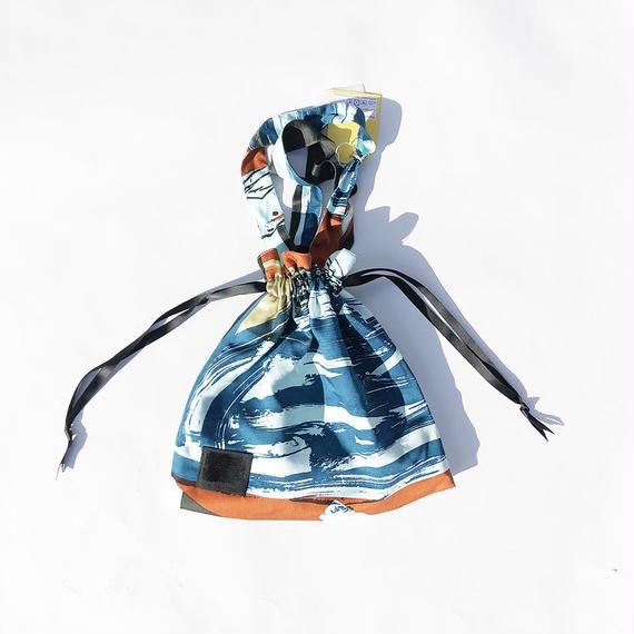 Hand print Drawstring bag 03(S)