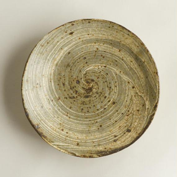 刷毛目 5寸皿 / 馬渡 新平 [ 陶 ]