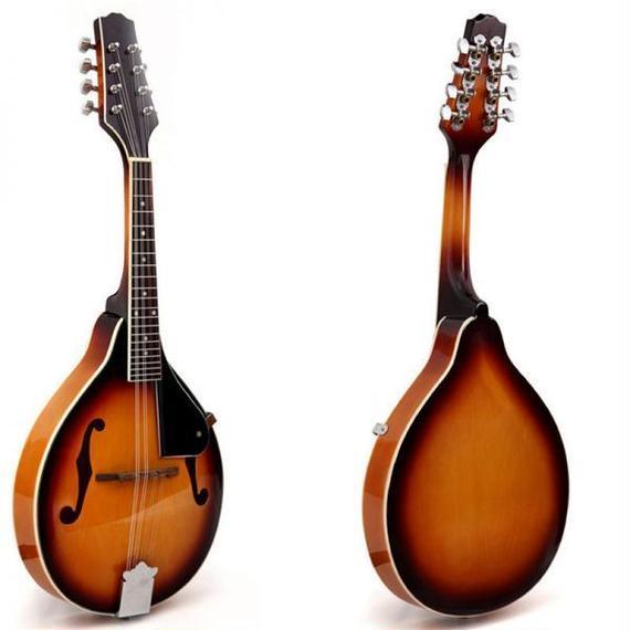 マンドリン 楽器 ローズウッド 8弦 36インチ 20フレット 特殊