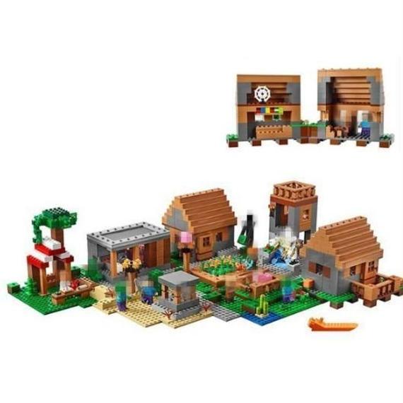 【LEGO互換品】LEPIN マインクラフト ザ・ヴィレッジ The Village 21128 相当( 海外製品 )lego レゴ ブロック 互換
