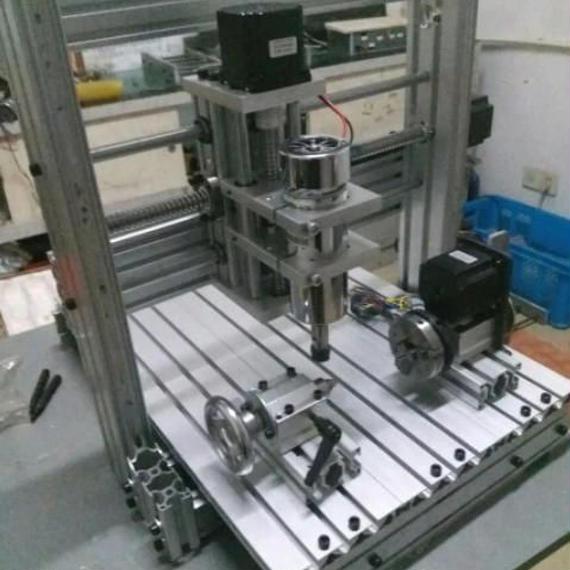 最新版 CNC3020 4軸 フライス盤 nc 旋盤