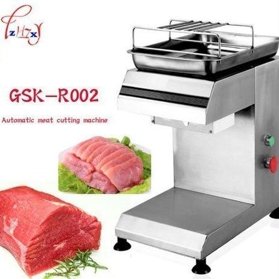 肉スライサー電動カッターホームキッチンステンレス鋼自動プロフェッショナル肉切断機2~25ミリメートル刃厚1ピース