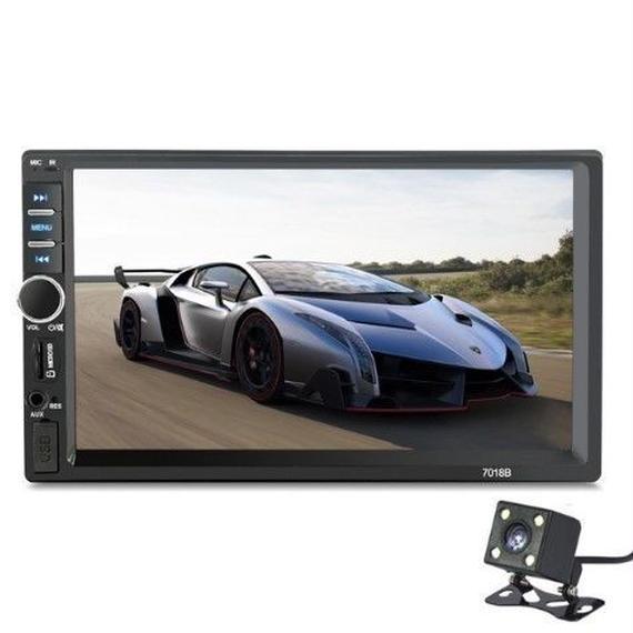 7インチユニバーサル2 DinのHD BluetoothカーラジオMP5プレーヤー