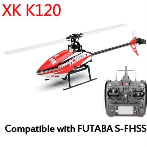 XK K120 RTF 送信機付 ヘリコプター ドローン ラジコン プロポ