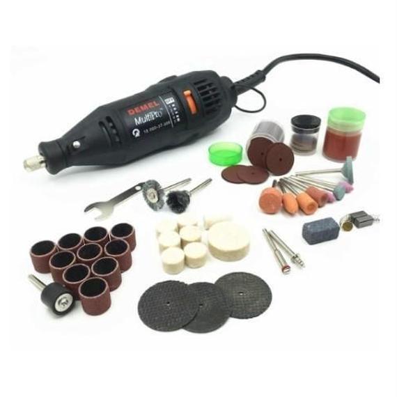 【送料無料】ギター加工 グラインダーリューター 研磨工具 キット 削り 加工