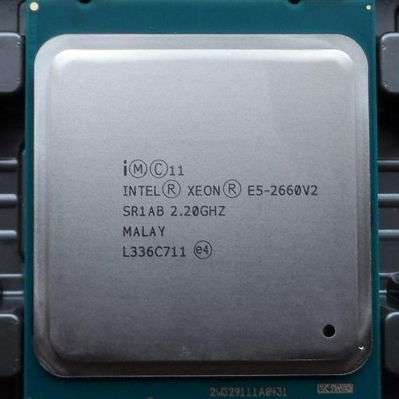 インテル xeon プロセッサ e5-2660 v2 lga2011 10コア SR1AB server デスクトップ 動作品 ロットあり
