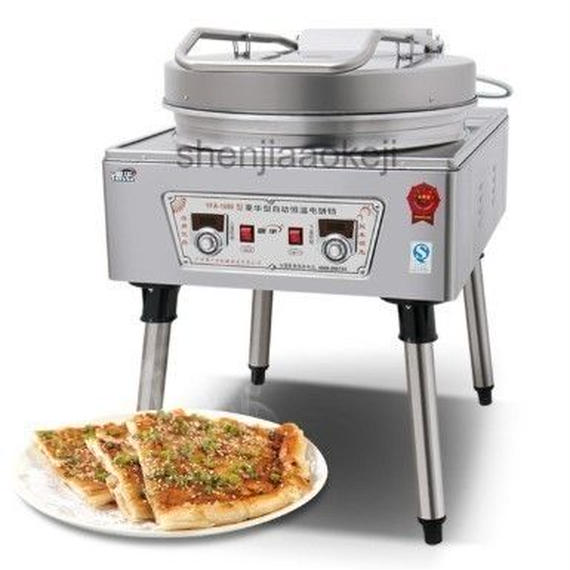 電気ベーキングパンケーキマシン 両面加熱醤油パンケーキクレープメーカー 220ボルト 5000ワット