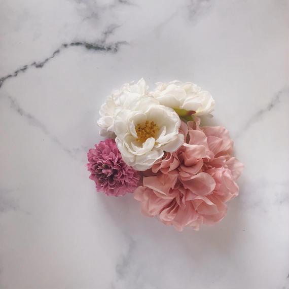 浴衣 和装 髪飾り ピンク