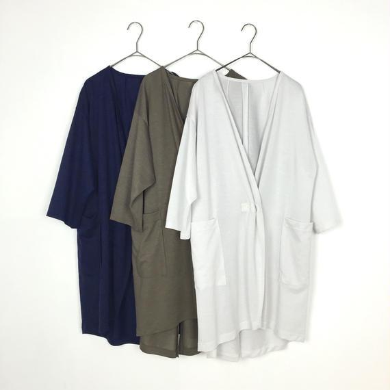 [isato]ポケット付カーディガンコート