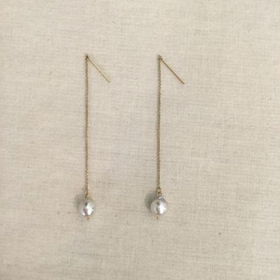 [Fision]耳飾り/アコヤ真珠