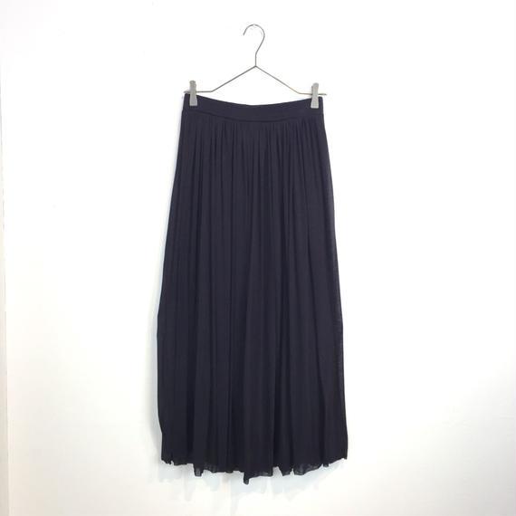 [CROCE CROSS]プリーツロングスカート