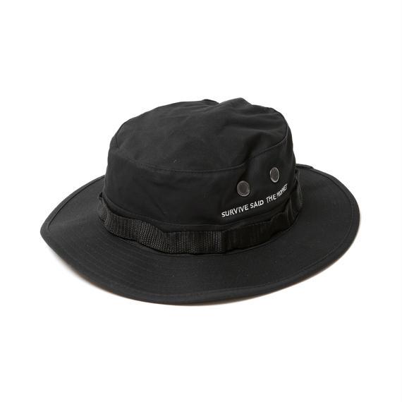 Survive Said The Prophet / SAFARI HAT (BLACK)