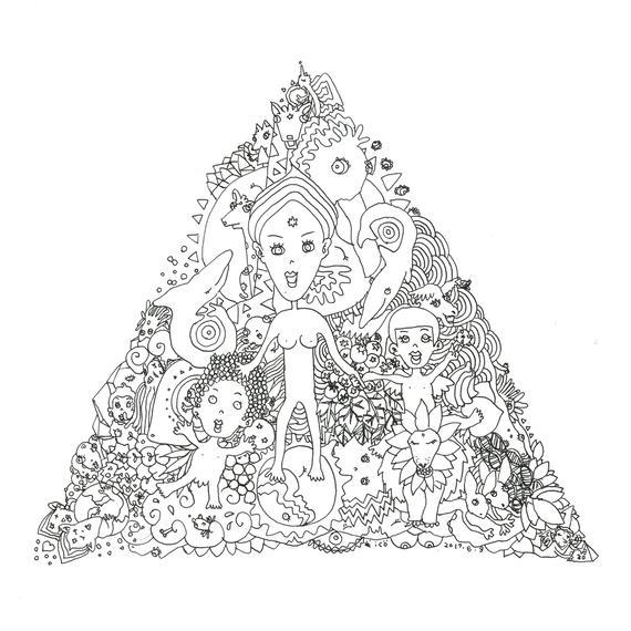 B:ソウルメイトプラン / ソウルリーディング+A4サイズの絵+額