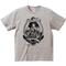 YAMATERAS 'OIRAN-NINGYO' T shirt 6.2oz (墨, 灰色, カーキ)