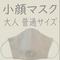 小顔マスク(大人 普通サイズ)