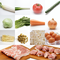 【基本セット定期便】定番&旬野菜・卵10品以上+国産銘柄豚肉・鶏肉200-300g