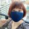 【アイノマスク】天然藍の手染めマスク