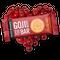 【送料無料】ゴジベリーバー カカオニブとクランベリー Goji Berry - Cacao Nibs & Cranberry  (10個入りパック)