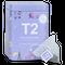 T2 紅茶 French Earl Grey(フレンチ・アールグレイ)ティーバッグ 25個入り 缶タイプ