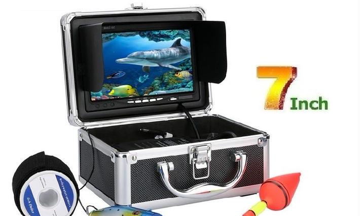水中カメラ・魚群探知機