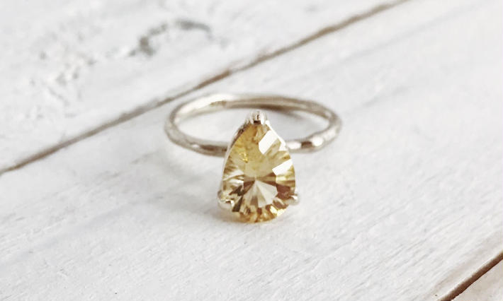 Limited stone Ring