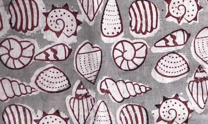 ・ハンドブロックプリント生地/  Fabrics