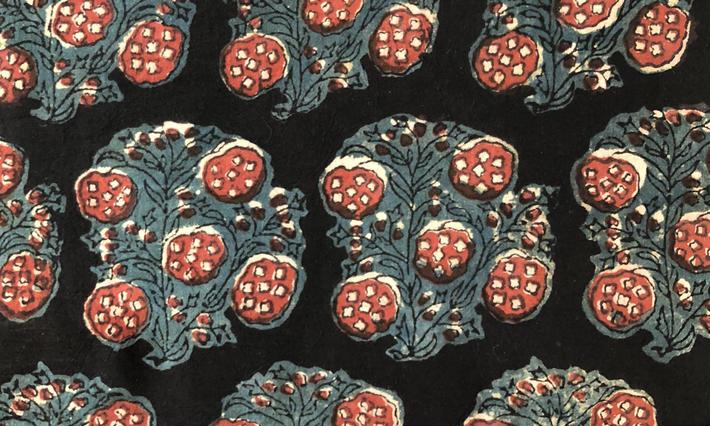 ・ブロックプリント生地/  Fabrics