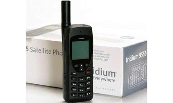 イリジウム 衛星携帯電話
