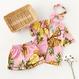 kids★fruit  print pajamas