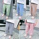 kids★pastel jogger pants