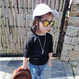 kids★rib  long sleeves T-shirt