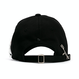 【予約発送 2/25】『BLACKBLOND』 Side Patch Graffiti Logo Cap (Black)