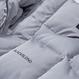 Blackblond Reflective Logo Oversize Short Padding (Gray)