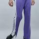 『Motivestreet』 HALF BUTTON TRACK PANTS (Purple)