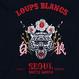 『LOUPS BLANCS』Embroidery SEOUL Hoodie (Black)