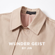 (注文製作) WunderGeist handkerchief sleeve トレンチコート (Pink)