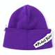 Blackblond BBD Side Patch Long Beanie (Purple)